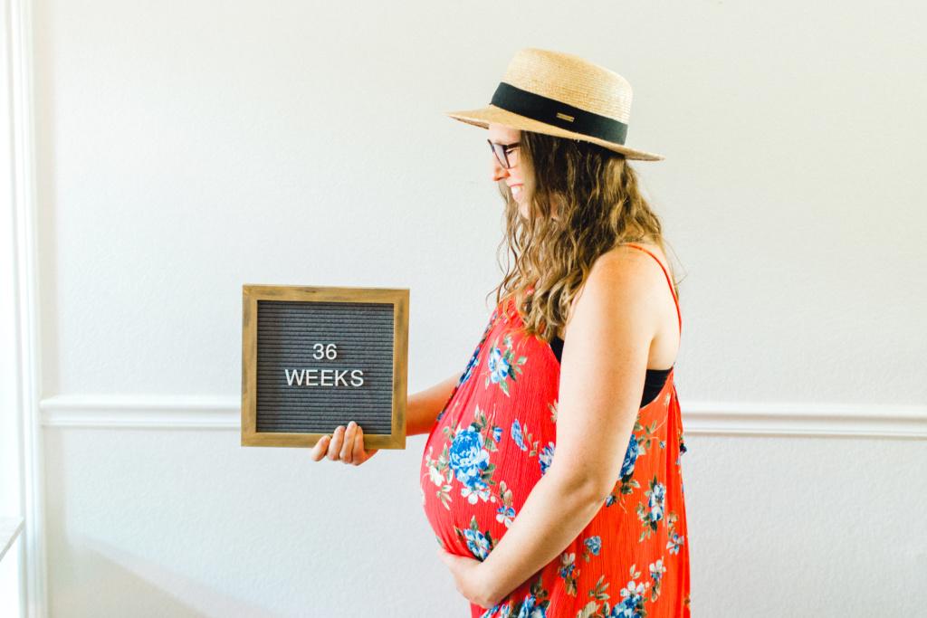 Week 36 Bumpdate | June Elizabeth | read more at happilythehicks.com