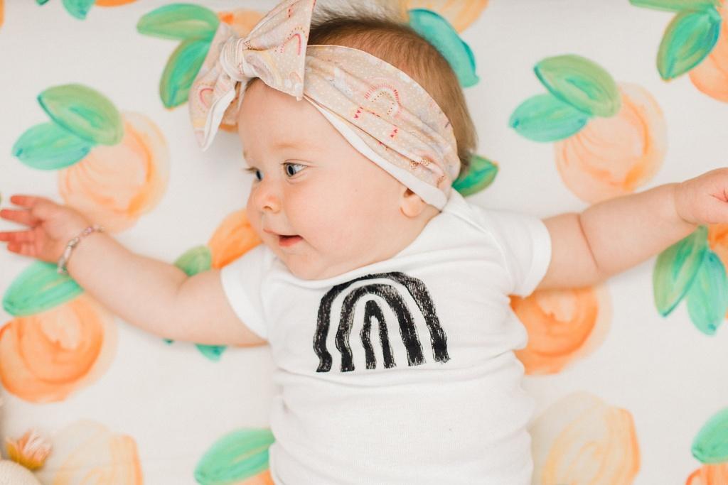 June Elizabeth | Eight Month Update | read more at happilythehicks.com