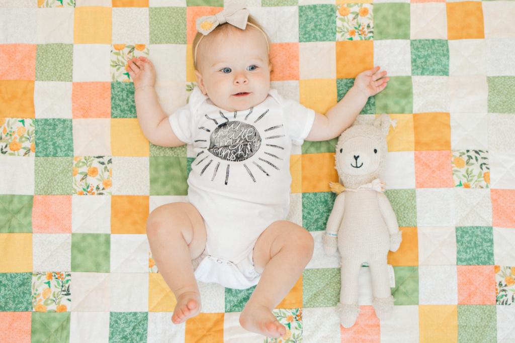 June Elizabeth | 11 Month Update | read more at happilythehicks.com