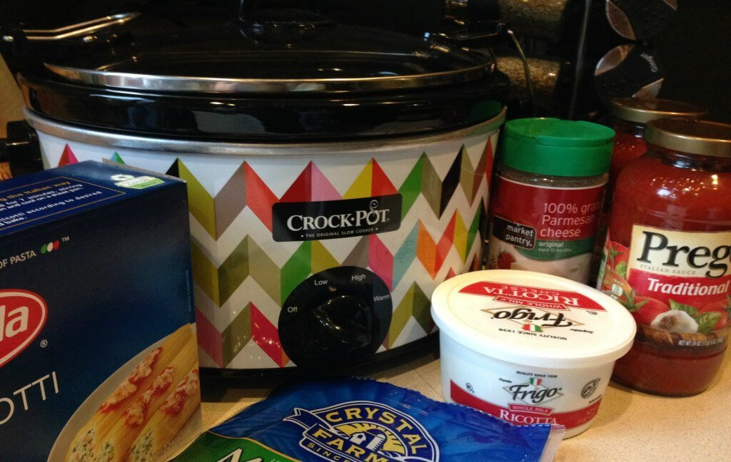 Crockpot Manicotti Recipe