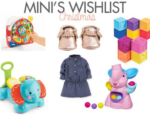 Baby Girl Christmas List