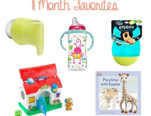 11 Month Favorites