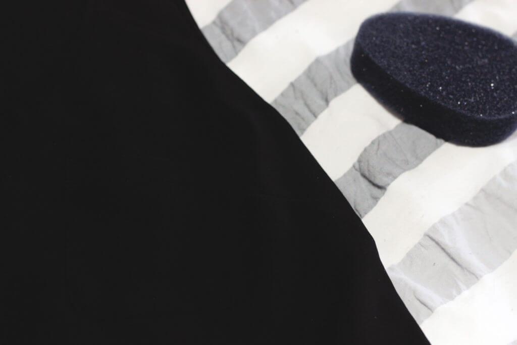 deodorant on shirt