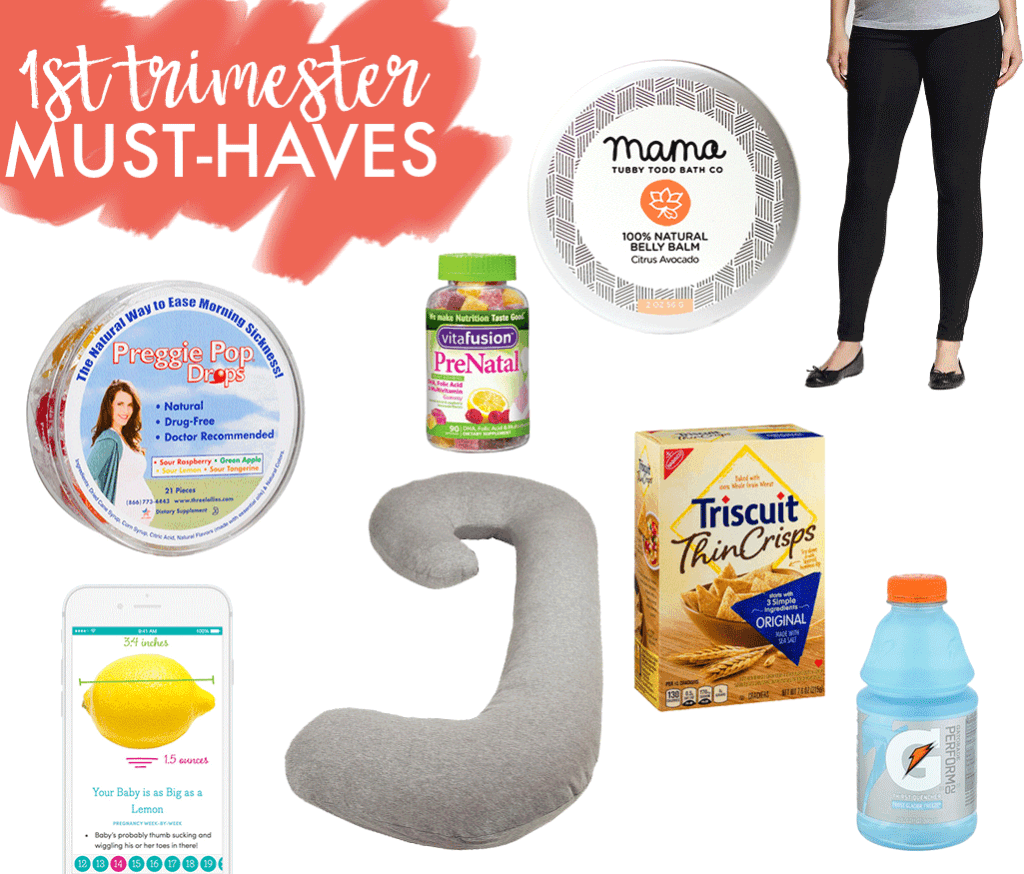 first trimester must haves  happily trista