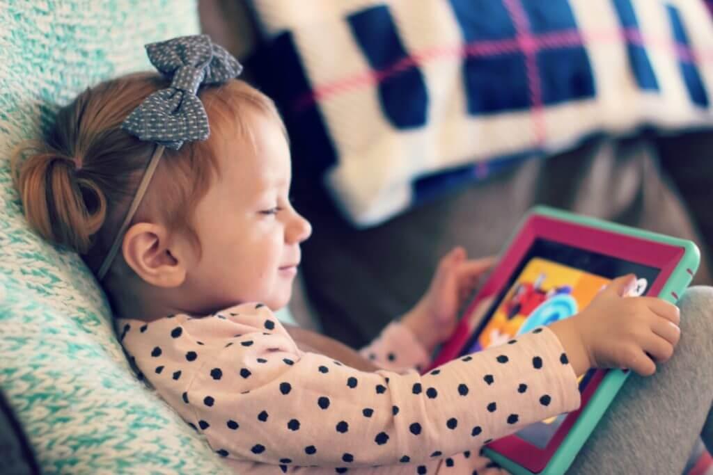 Blaire playing KidloLand