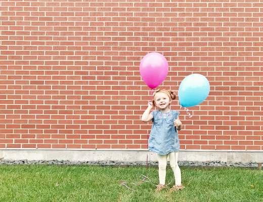 Baby Balloon Gender Reveal