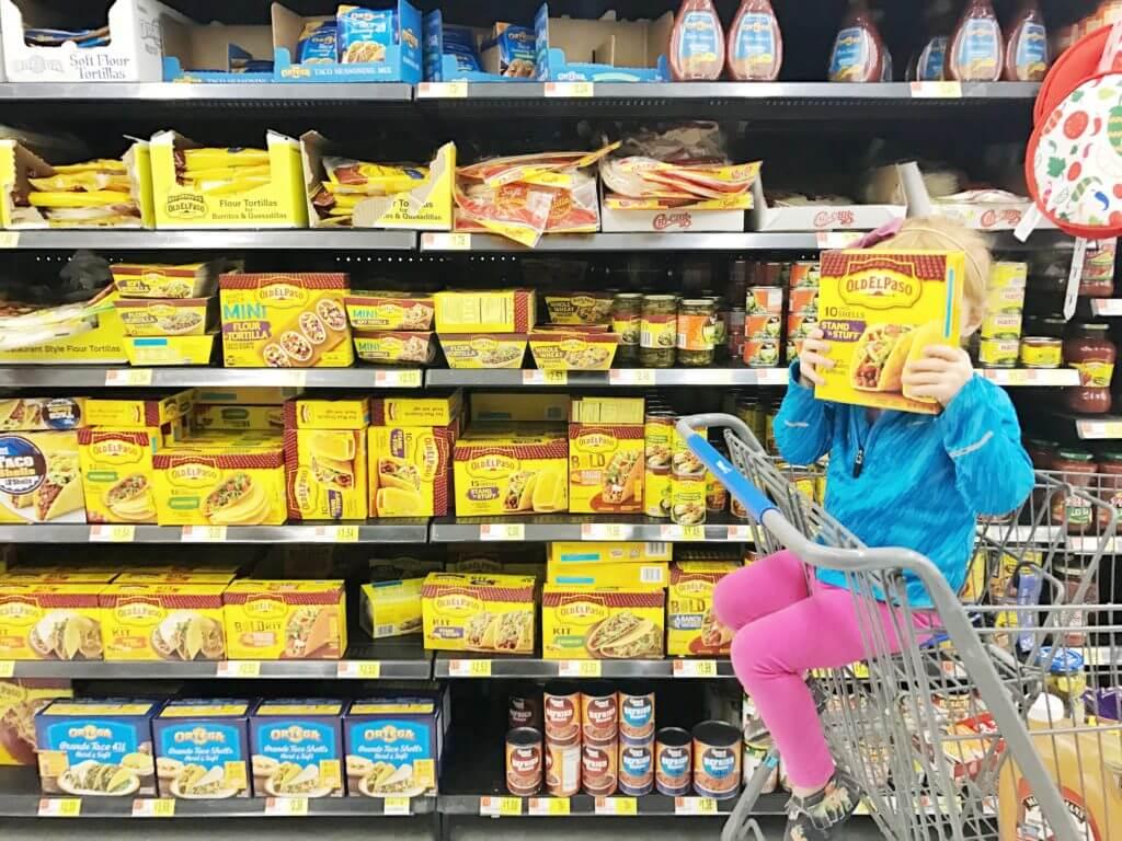 Old El Paso at Wal Mart