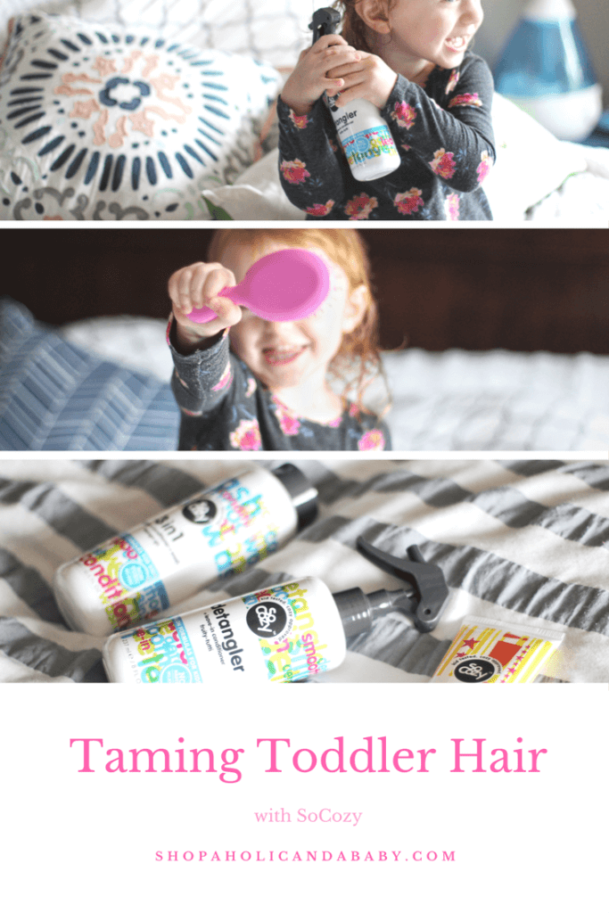 Taming Toddler Hair with SoCozy