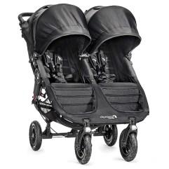 Baby Jogger® City Mini® GT Double Stroller in Black/Black