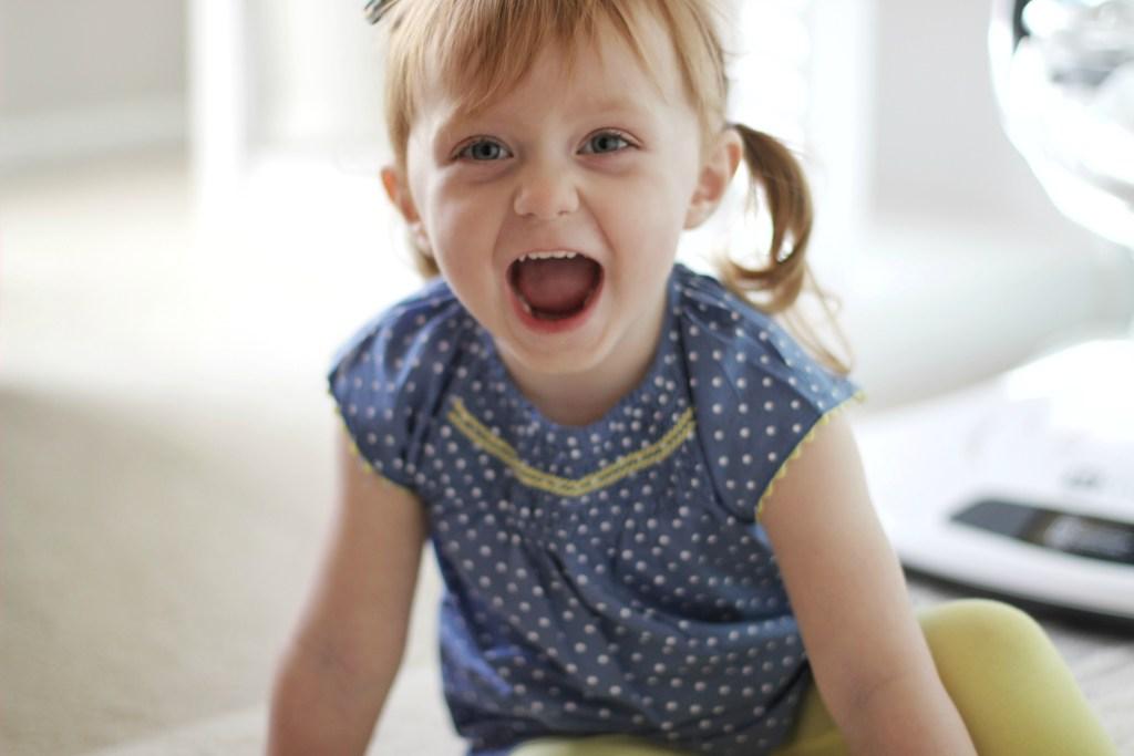 Blaire, Age 3
