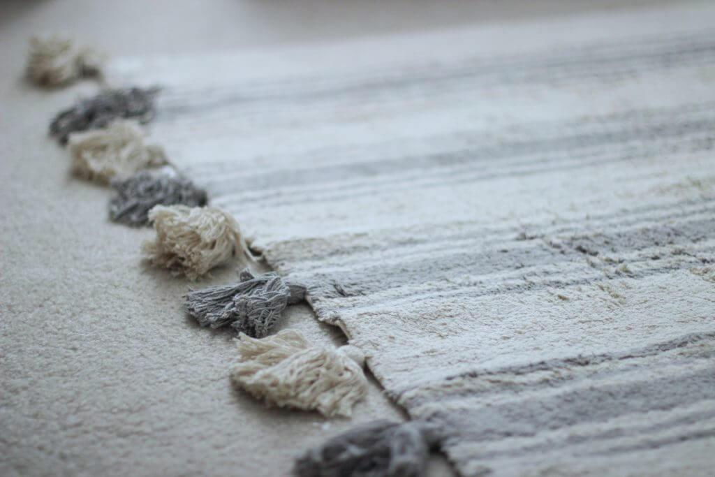 Lorena Canals Rug Stripes Glacier Grey
