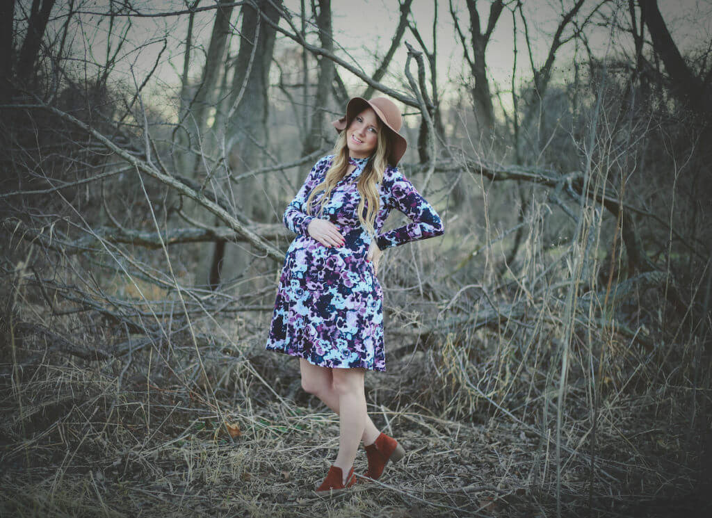 Boho Style Maternity Picture