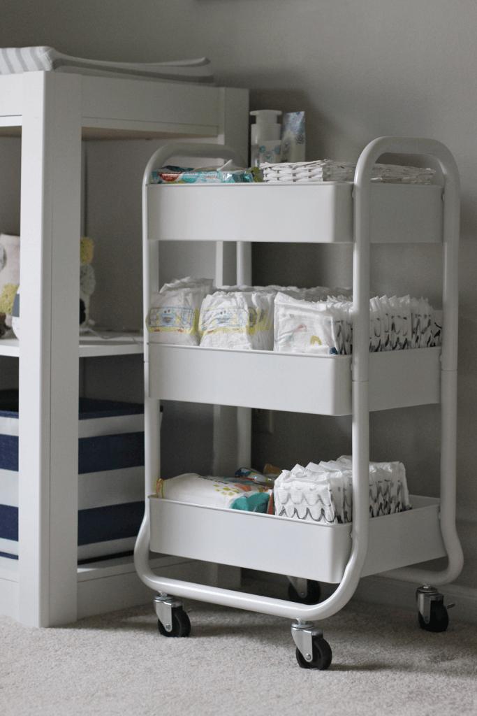White Cart in Nursery