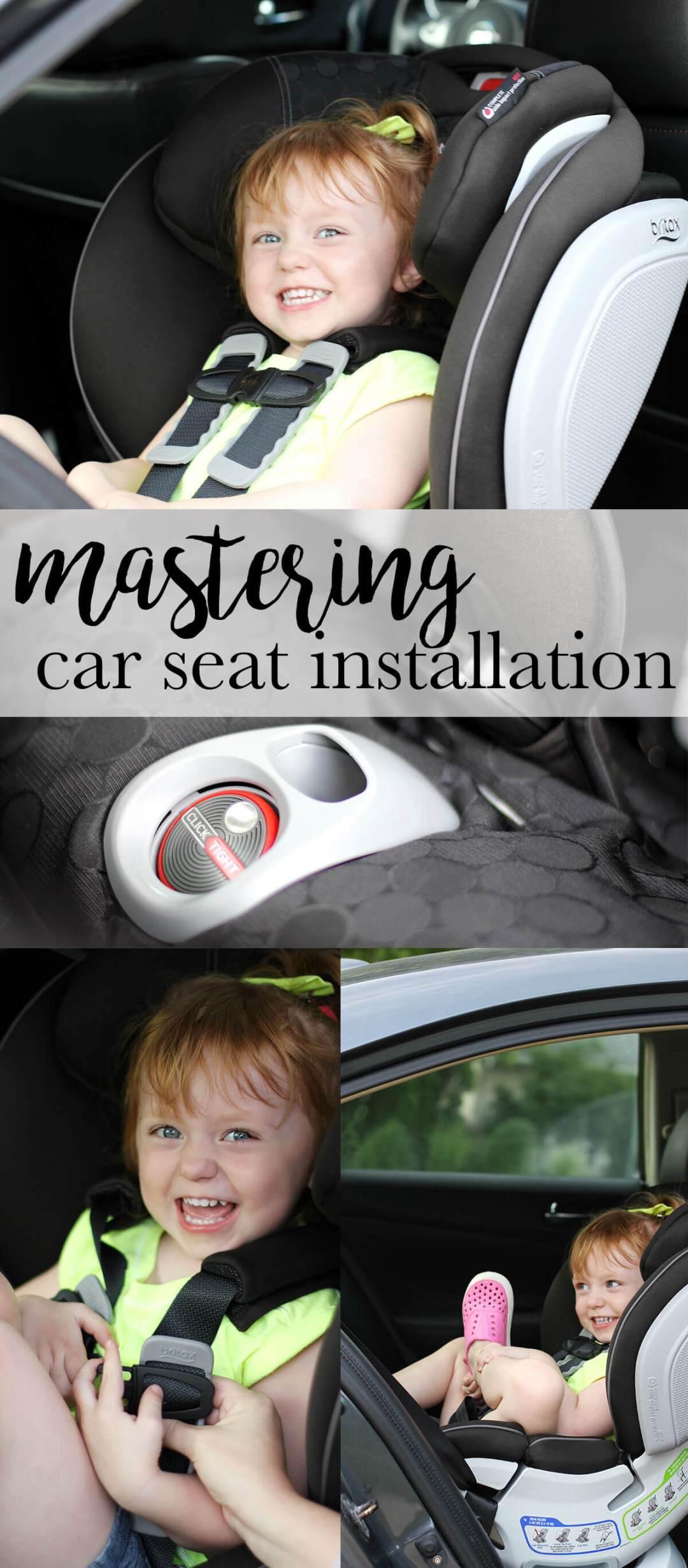 Mastering Safe Car Seat Installation
