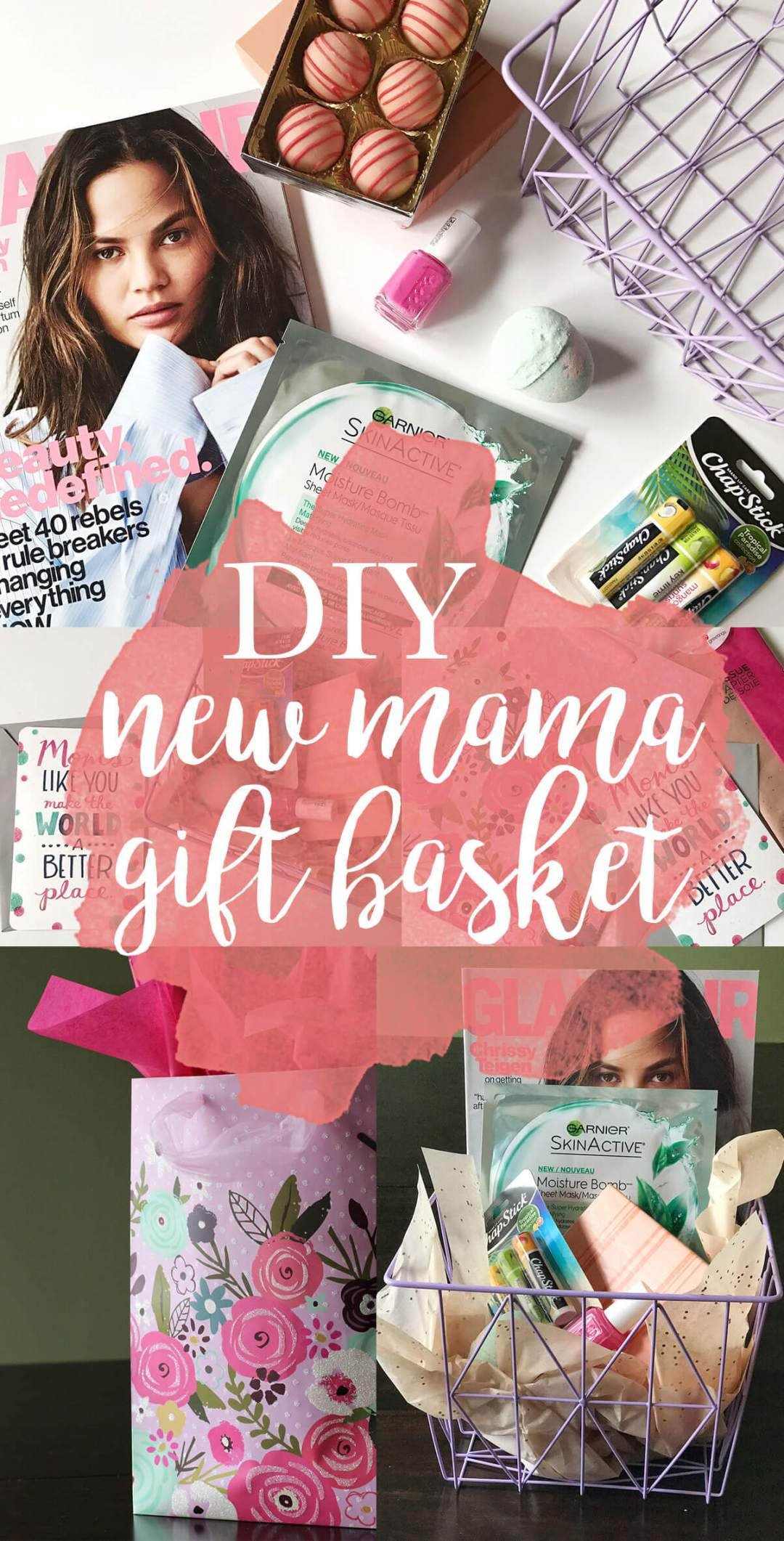 DIY New Mama Gift Basket