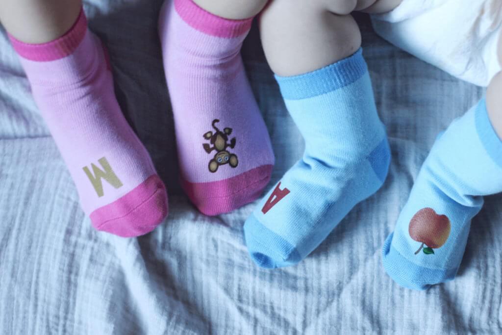 Kids in Socks ABC Socks