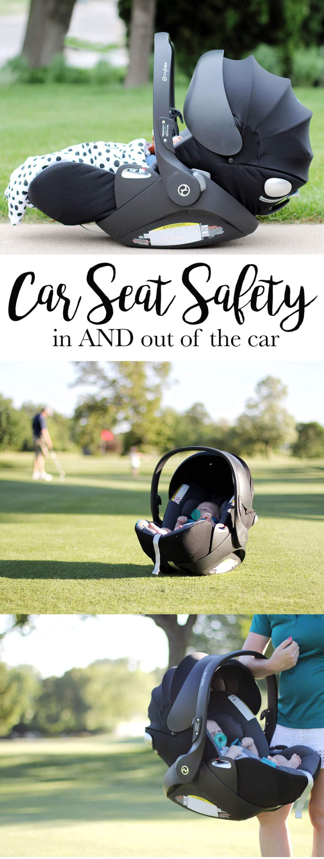 Carseat Safety In AND Out of the Car | Shopaholic & a Baby Blog