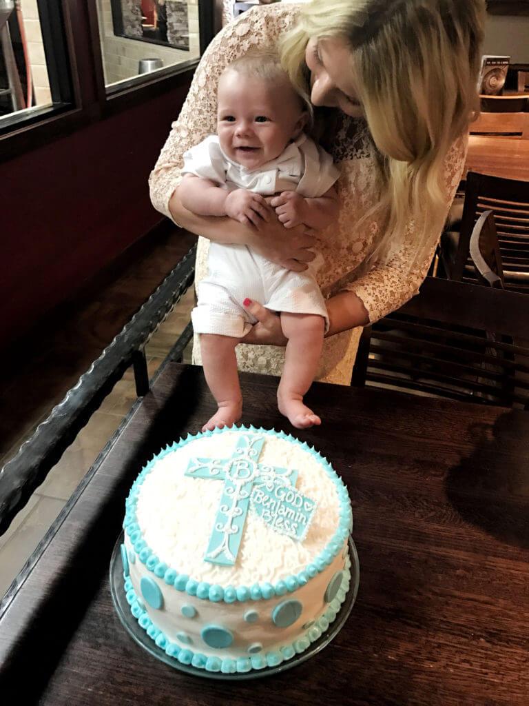 Ben's Baptism Cake