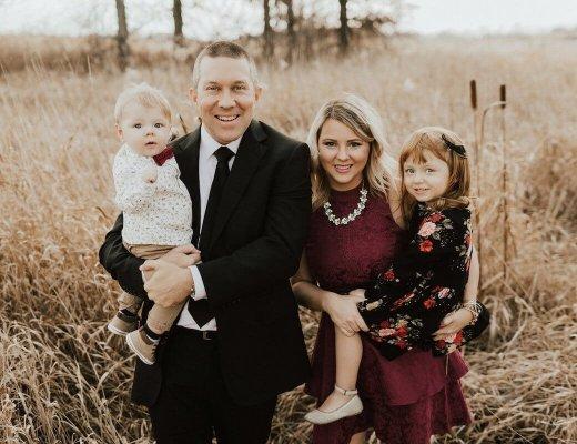 Outdoor Family Photos Winter 2017