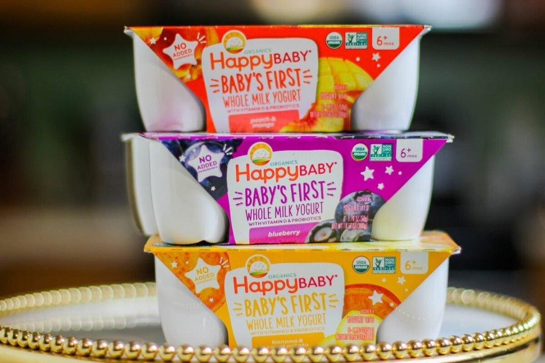 Happy Family Baby Yogurt Cups