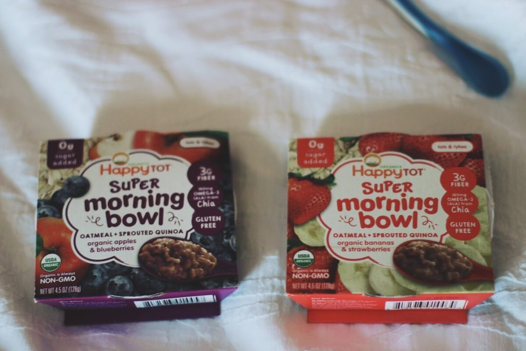 Happy Tot Super Morning Bowl
