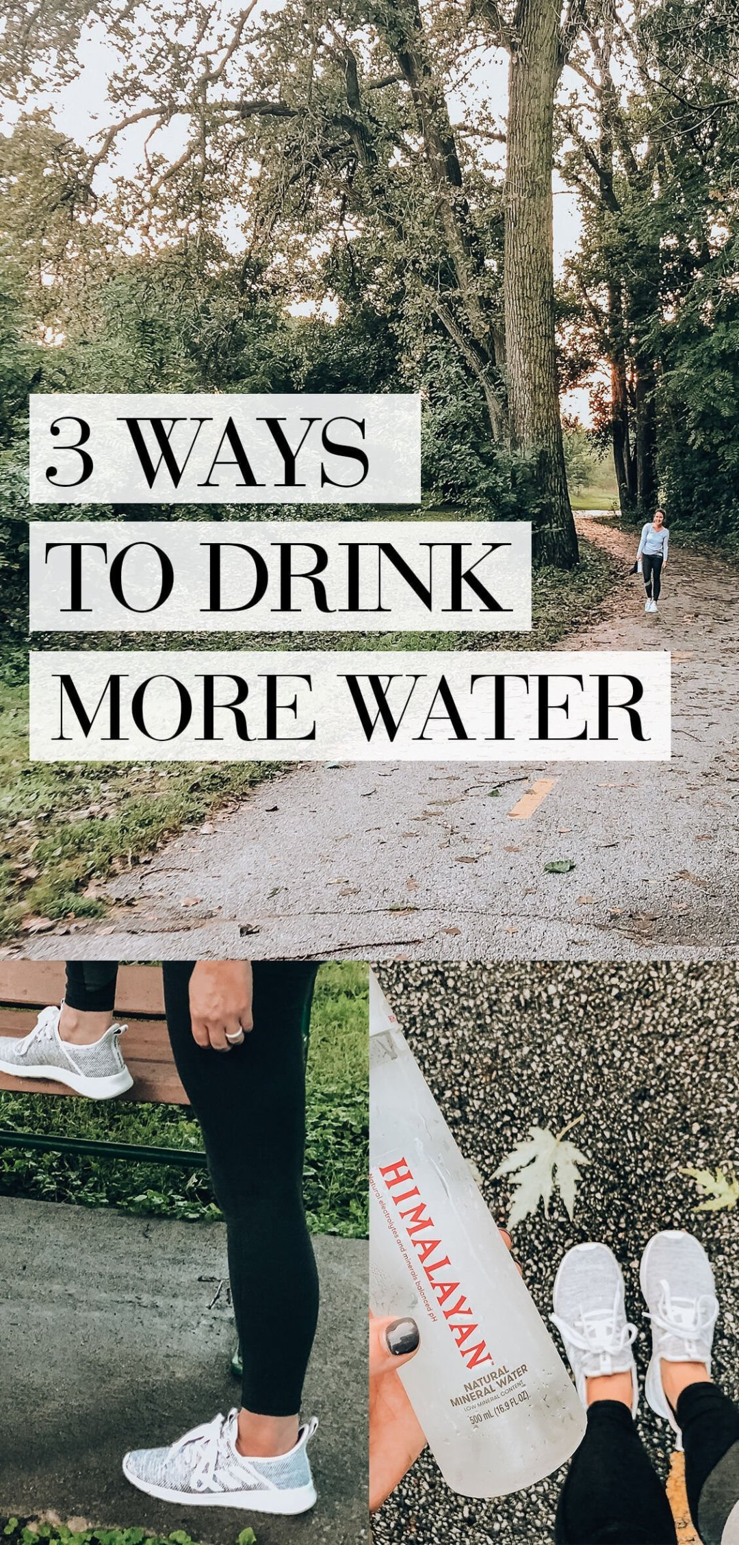 3 Ways to Make Yourself Drink More Water | #ad #HimalayanWater #FindYourBalance