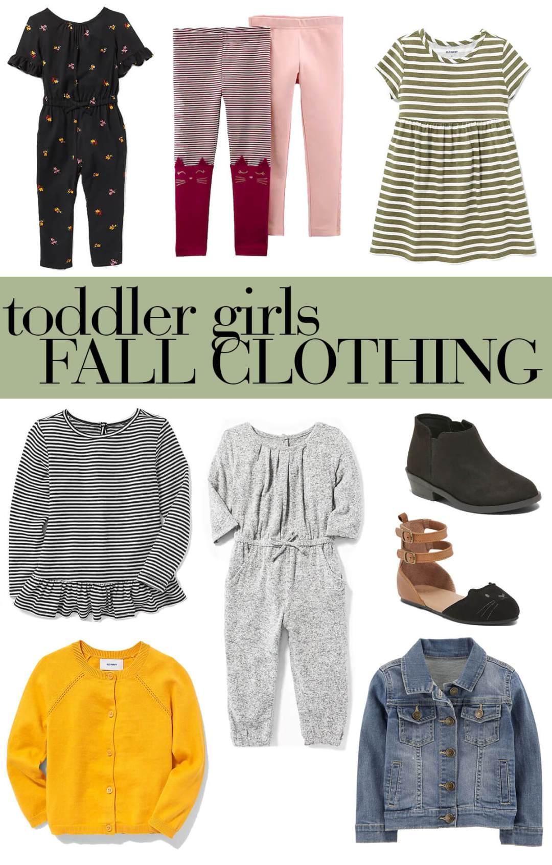 toddler girls fall clothing