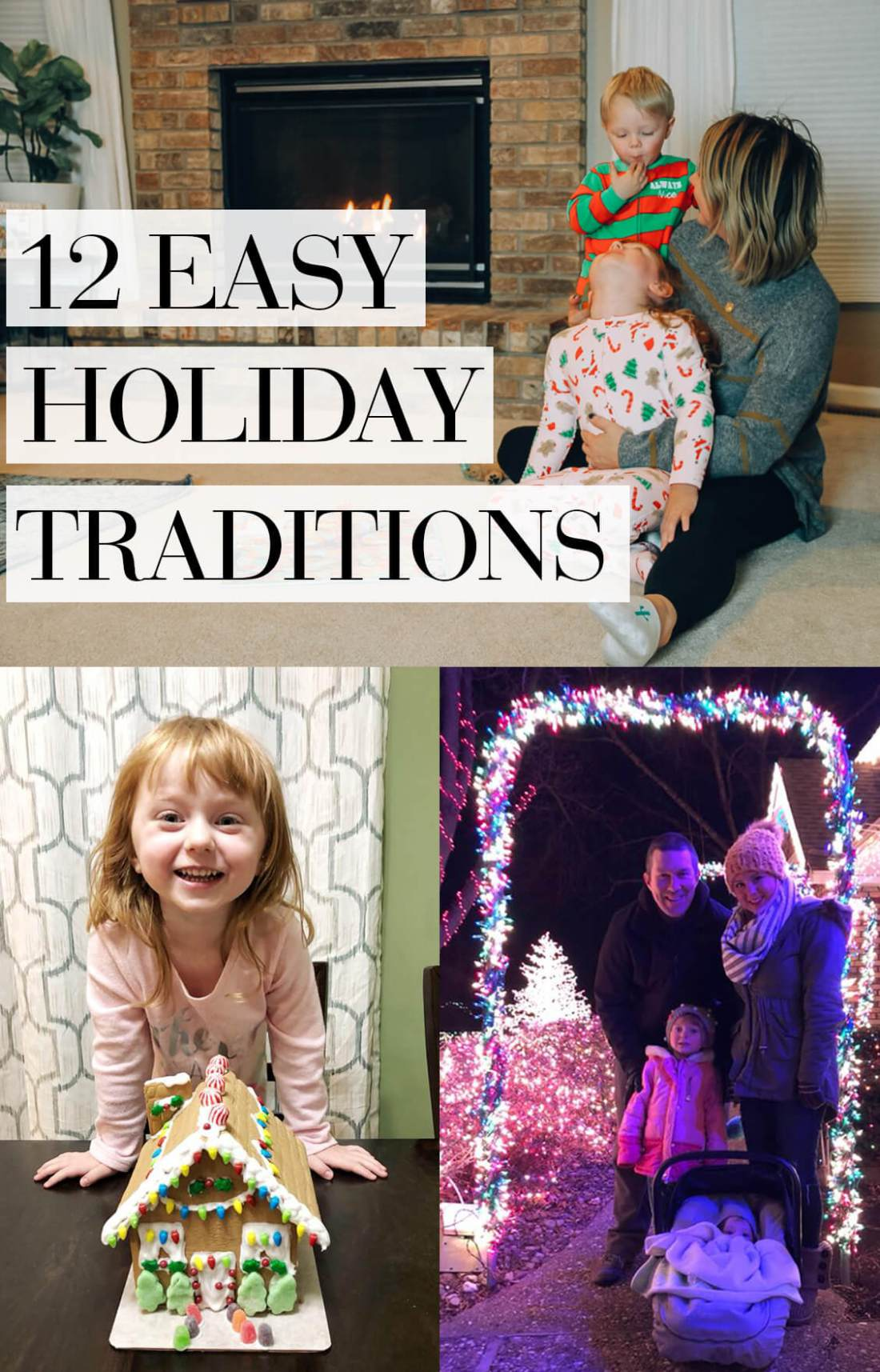 12 easy holiday traditions