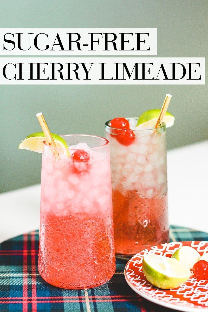 Sugar Free Cherry Limeade Recipe