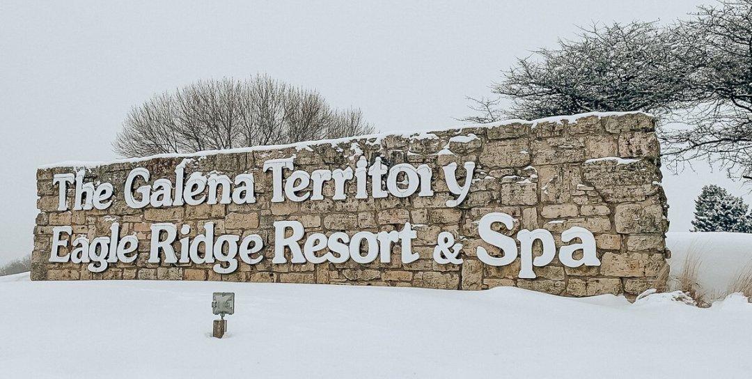 Eagle Ridge Resort Galena, IL - Main Entrance Sign