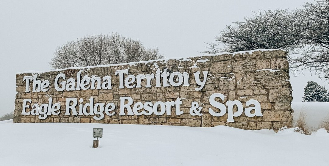 Eagle Ridge Resort Galena, IL - Main Entrance Sign