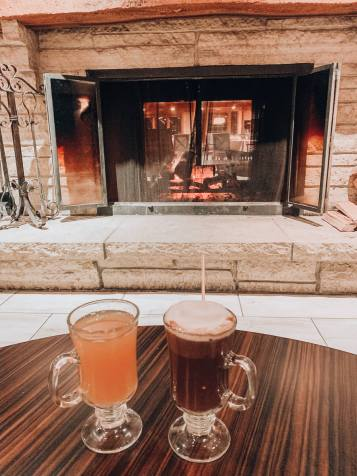 Eagle Ridge Resort Winter Drinks