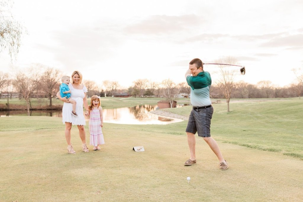 Golf Course Exploding Golf Ball Gender Reveal