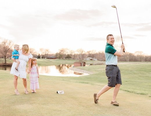 Golf Course Exploding Golf Ball Gender Reveal