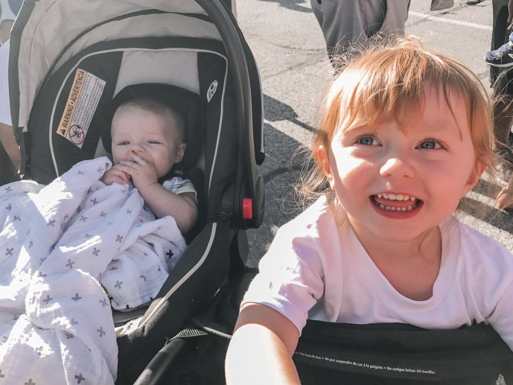 double stroller by Baby Jogger