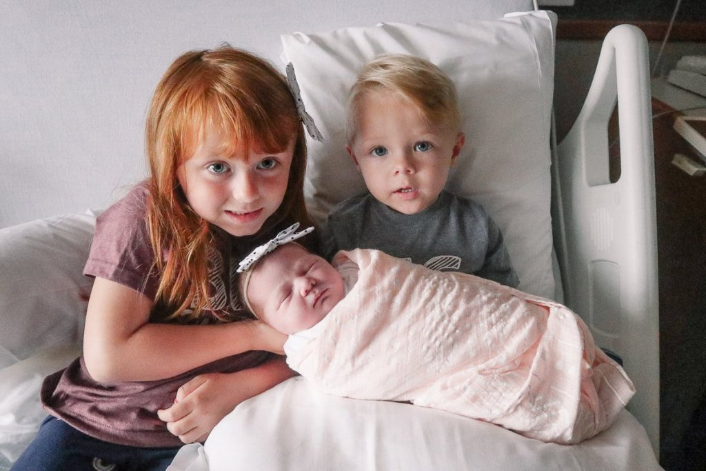 Blaire and Ben with Sloane