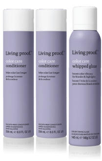 Living proof Color Care promo box met Whipped Glaze Light