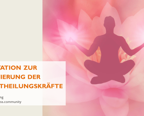 Meditation Selbstheilung