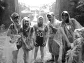Soaking wet at Universal Studios!