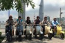That mandatory group photo with the Vespa bikes. HAHA!