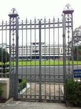 We're only allowed til the gates.