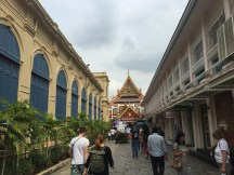 At the entrance of Grand Palace
