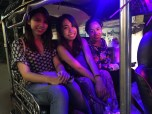 Tuktuk on our way home