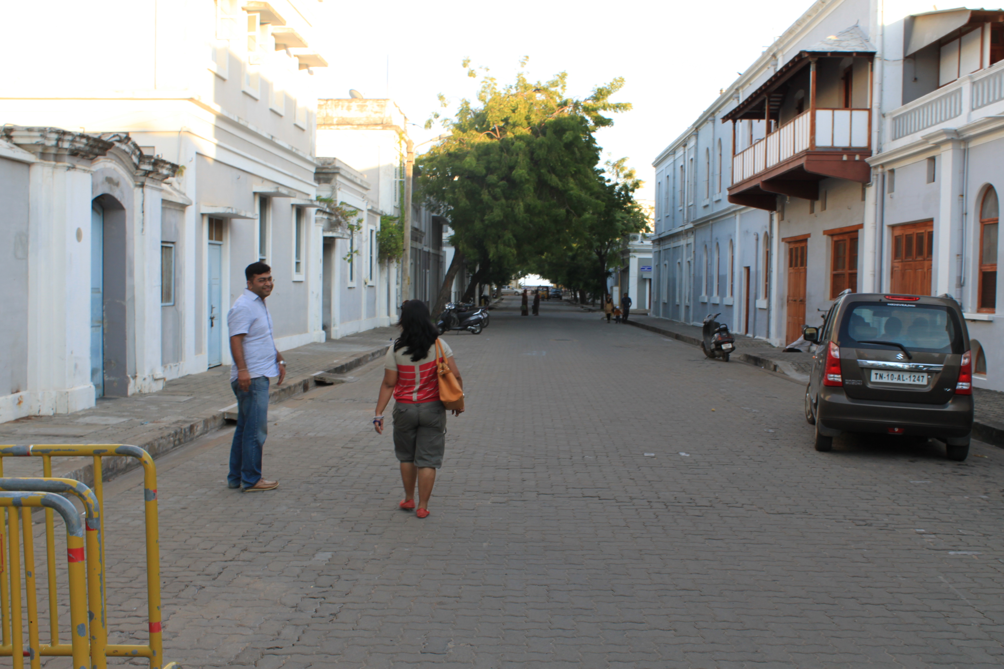A walk through the french colony..