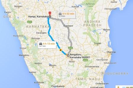 Road Trip to Hampi