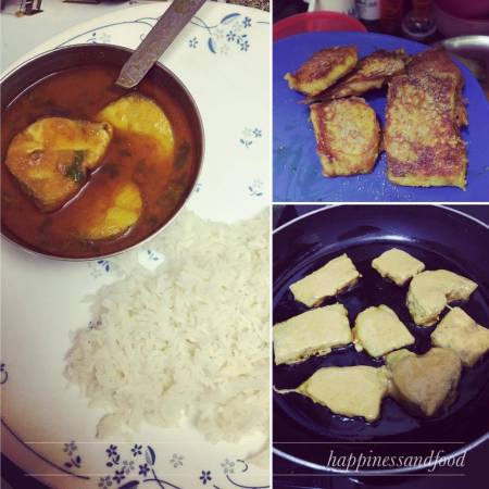 Fish curry and love