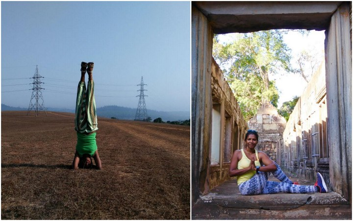 Nishara, a yoga teacher