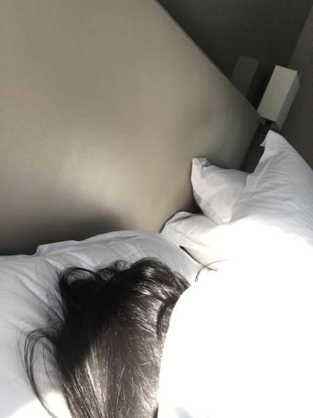 I slept over the weekend