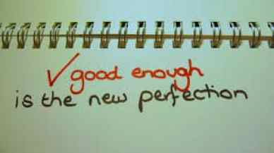 Changing Perfectionist Thinking