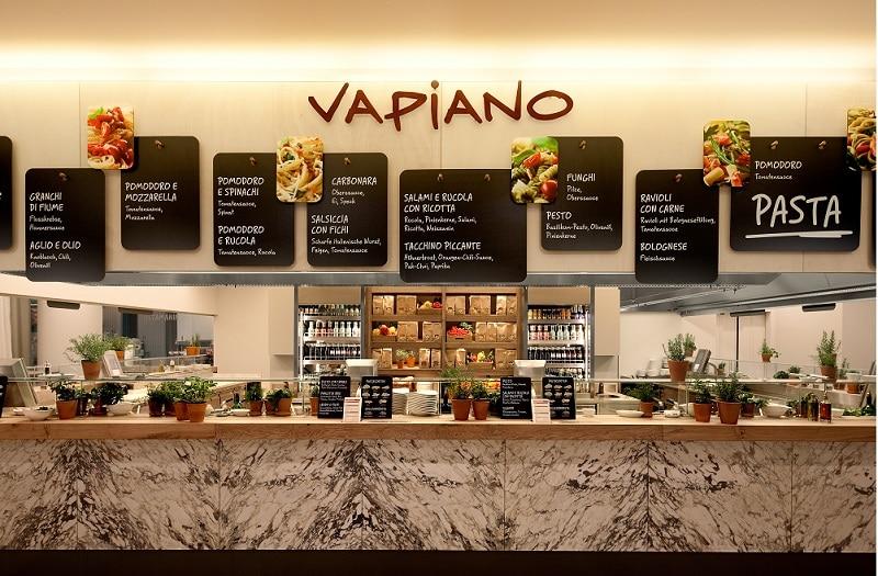 vapiano menu